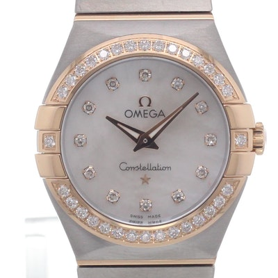 Omega Constellation Quartz - 123.25.27.60.55.001