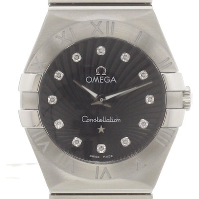 Omega Constellation Quartz - 123.10.27.60.51.001