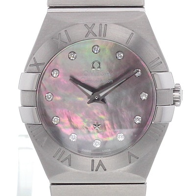 Omega Constellation Quartz - 123.10.27.60.57.003