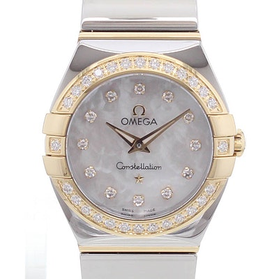 Omega Constellation Quartz - 123.25.24.60.55.007