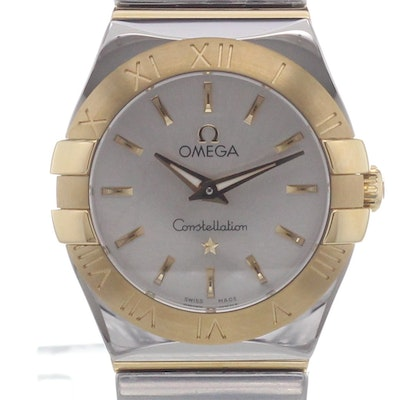 Omega Constellation Quartz - 123.20.24.60.02.004