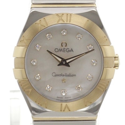 Omega Constellation Quartz - 123.20.27.60.55.004