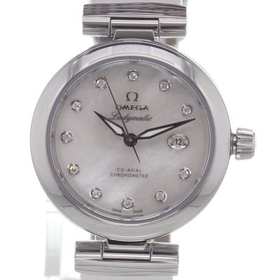 Omega De Ville Ladymatic Co-Axial - 425.32.34.20.55.002