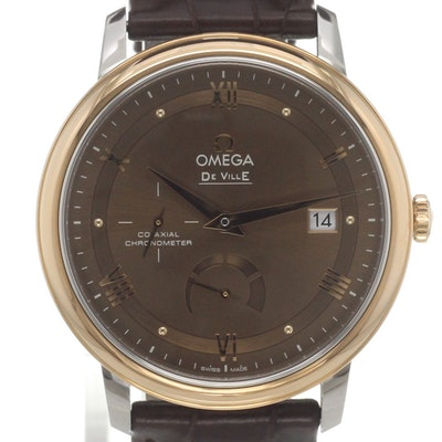 Omega De Ville Prestige Co-Axial Power Reserve - 424.23.40.21.13.001