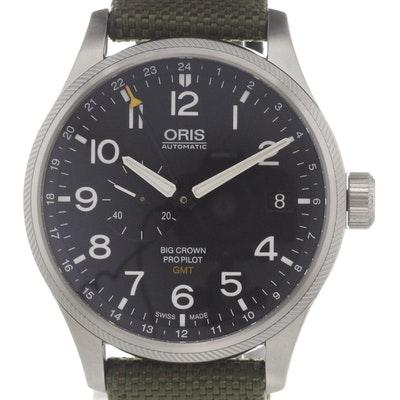 Oris Big Crown ProPilot GMT - 01 748 7710 4164-07 5 22 14FC