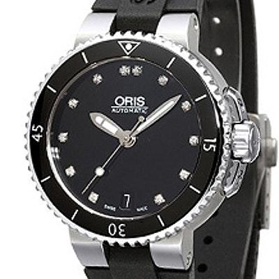 Oris Aquis Date Diamonds - 01 733 7652 4194-07 4 18 34