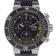 Oris Aquis Depth Gauge Chrono - 01 774 7708 4154-Set RS