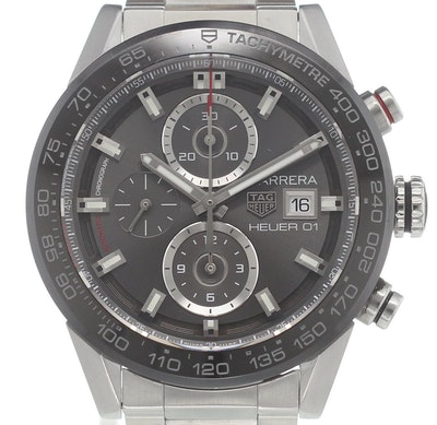 Tag Heuer Carrera Calibre HEUER 01 Automatic Chronograph - CAR201W.BA0714