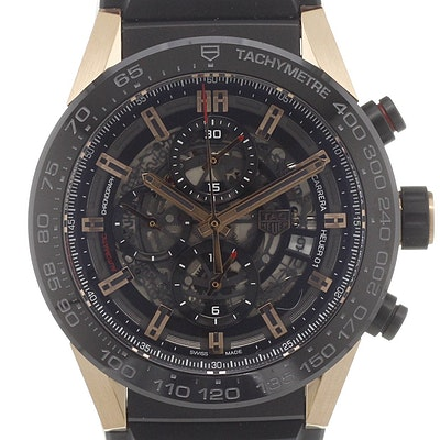 Tag Heuer Carrera Calibre Heuer 01 Automatic Chronograph - CAR2A5A.FT6044