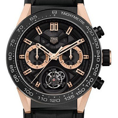 Tag Heuer Carrera Calibre Heuer 02T Automatic Chronograph - CAR5A5Y.FC6377