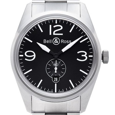 Bell & Ross BR 123 Original - BRV123-BL-ST / SST