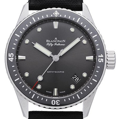Blancpain Fifty Fathoms Bathyscaphe - 5000-1110-B52A