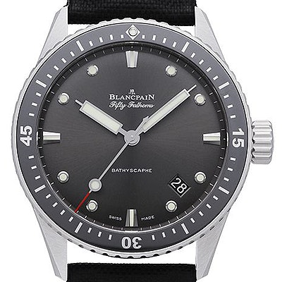 Blancpain Fifty Fathoms Bathyscaphe - 5000-1110-B52A