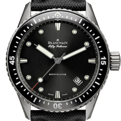 Blancpain Fifty Fathoms Bathyscaphe - 5000-1230-B52A