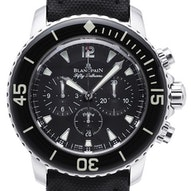 Blancpain Sport Automatique Fifty Fathoms Bathyscaphe Chronograph Flyback - 5085F-1130-52A