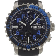 Fortis B-42 Marinemaster Blue Chronograph - 671.15.45 L