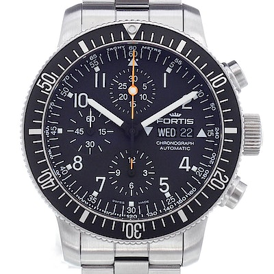 Fortis B-42 Official Cosmonauts Chronograph - 638.10.11 M