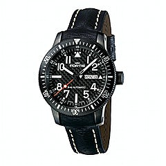 Fortis B-42 Black Automatic Day-Date - 647.28.81 L01