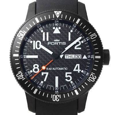 Fortis B-42 Black Automatic Day-Date - 647.28.81 K