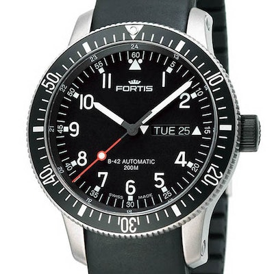Fortis B-42 Official Cosmonauts Day-Date - 647.10.11 K
