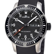 Fortis B-42 Official Cosmonauts Day / Date Titanium - 647.27.11 K
