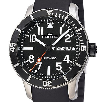 Fortis B-42 Official Cosmonauts Titan Diver Day-Date - 647.29.41 K