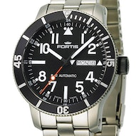Fortis B-42 Official Cosmonauts Titan Diver Day / Date - 647.29.41 M