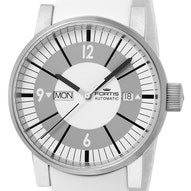 Fortis Spacematic Classic White - 623.10.37 Si02