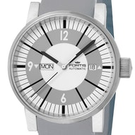Fortis Spacematic Classic White - 623.10.37 Si10
