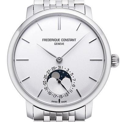 Frederique Constant Manufacture Slimline Moonphase - FC-705S4S6B