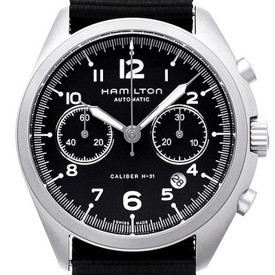 Hamilton Khaki Aviation Pilot Pioneer Chrono  - H76456435