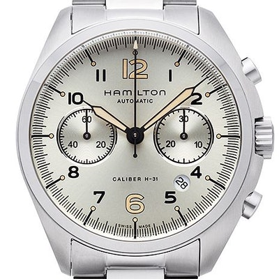 Hamilton Khaki Aviation Pilot Pioneer Chrono  - H76416155
