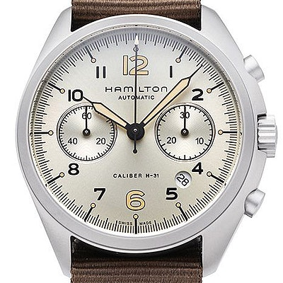Hamilton Khaki Aviation Pilot Pioneer Chrono  - H76456955