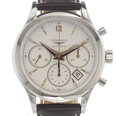 Longines Heritage Column Wheel Chronograph - L2.750.4.76.2