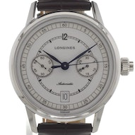 Longines Heritage Column Wheel Single Push-Piece Chronograph - L2.800.4.26.2