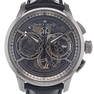 Maurice Lacroix Masterpiece Chronograph Skeleton - MP6028-SS001-001-1