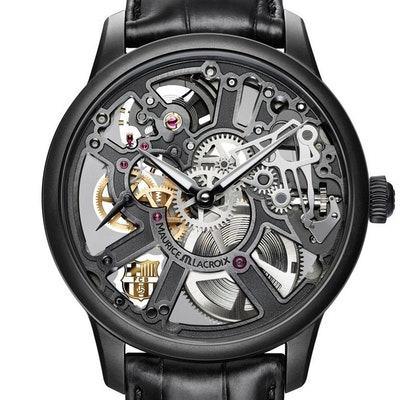 Maurice Lacroix Masterpiece Skeleton FC Barcelona Edition - MP7228-PVB01-002-1