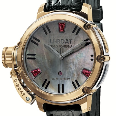 U-Boat Chimera Auto 40 Gold Mother of Pearl - 8034