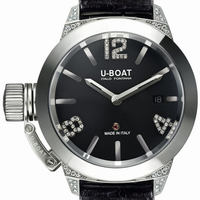 U-Boat Classic 40 White Diamonds - 6950