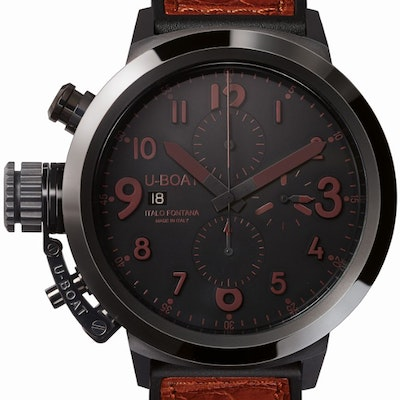 U-Boat Flightdeck 50 Black Ceramic - 7094