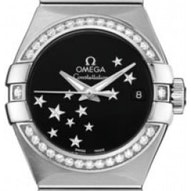 Omega Constellation Brushed Chronometer - 123.15.27.20.01.001