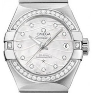 Omega Constellation Brushed Chronometer Pluma - 123.15.27.20.55.002