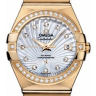 Omega Constellation Brushed Chronometer - 123.55.27.20.55.002
