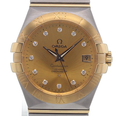 Omega Constellation Co-Axial - 123.20.35.20.58.001