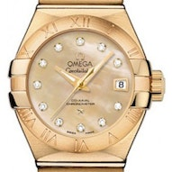Omega Constellation Brushed Chronometer - 123.50.27.20.57.002
