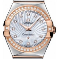 Omega Constellation Polished Quartz - 123.25.27.60.55.006