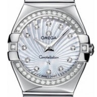 Omega Constellation Polished Quartz - 123.15.27.60.55.004