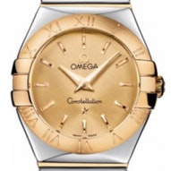 Omega Constellation Polished Quartz - 123.20.27.60.08.002