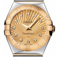 Omega Constellation Polished Quartz - 123.20.27.60.58.002