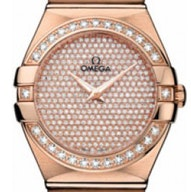 Omega Constellation Brushed Quartz - 123.55.27.60.99.004